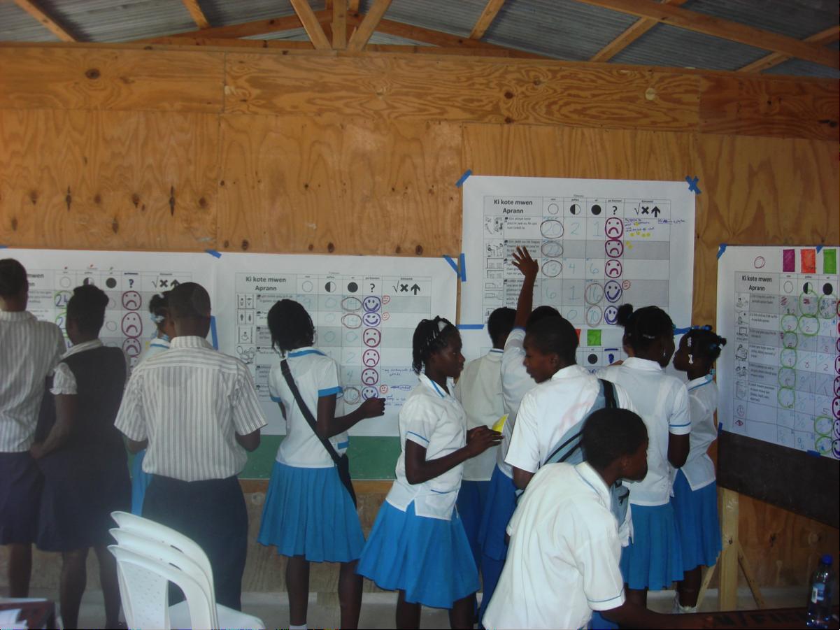 Final Voting in Haiti